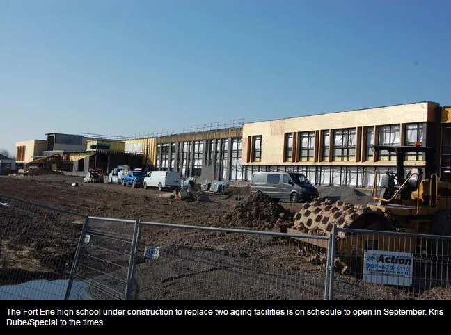 New FE high school on schedule for September opening